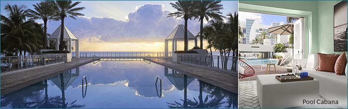 The Diplomat: Pool & Cabana